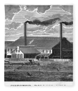 Chester Rolling Mill Fleece Blanket