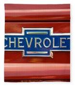 Chevrolet Emblem Fleece Blanket