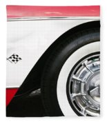Chevrolette Corvette Sting Ray Convertible Fleece Blanket