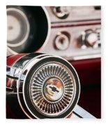 Chevy 327 Malibu Ss Fleece Blanket
