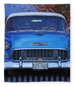 Chevy Front End Fleece Blanket