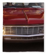 Chevy Impala Ss Fleece Blanket