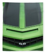 Chevy Ss Emblem Fleece Blanket
