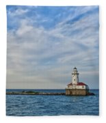 Chicago Lighthouse Fleece Blanket