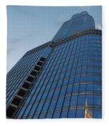 Chicago Skyscraper Fleece Blanket