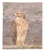 Chicken Hawk 2 Fleece Blanket