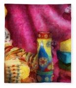 Children - Toy - Earliest Childhood Memories Fleece Blanket