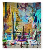 Child's Painting Easel Fleece Blanket