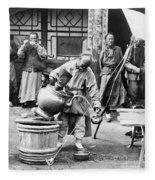 China: Manchuria, C1906 Fleece Blanket