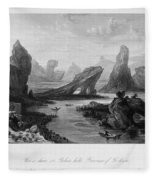 China: Wuyi Shan, 1843 Fleece Blanket