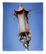 Chinatown Dragon Light Fleece Blanket