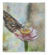 Chinese Butterfly Fleece Blanket