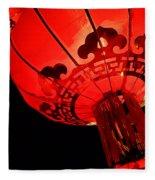 Chinese Lanterns 4 Fleece Blanket