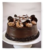 Chocolate Cake Fleece Blanket