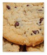 Chocolate Chip Cookies Pano Fleece Blanket
