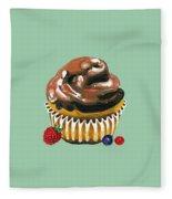 Chocolate Glaze Fleece Blanket