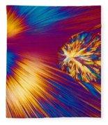 Cholesterol Crystal Fleece Blanket