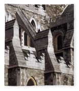 Christ Church Cathedral, Dublin City Fleece Blanket
