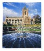 Christ Church Cathedral, Synod Hall Fleece Blanket