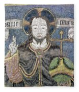 Christ In Majesty Fleece Blanket