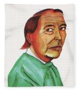 Christiann Barnard Fleece Blanket