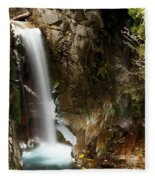 Christine Falls Canyon Fleece Blanket