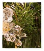 Christmas Crystal Angel 1 B Fleece Blanket