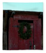 Christmas Out House The Perfect Gift For Those On The Go Fleece Blanket