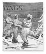 Christmas: Polar Bears Fleece Blanket