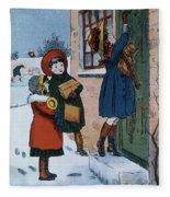 Christmas Presents Fleece Blanket