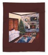 Christmastime Fleece Blanket