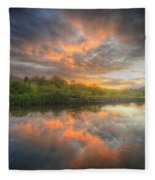 Chromalite Echo 4.0 Fleece Blanket