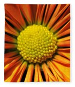 Chrysanthemum Fleece Blanket