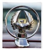 Chrysler Imperial Hood Ornament Fleece Blanket