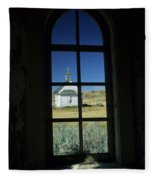 Church At Dorothy Fleece Blanket