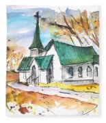 Church In Friars Point Mississippi Fleece Blanket