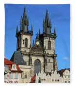 Church Of Our Lady Before Tyn Fleece Blanket