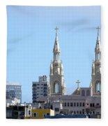 Church Top San Francisco Fleece Blanket