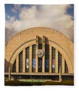 Cincinnati Museum Union Terminal Fleece Blanket