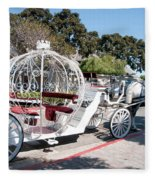 Cinderella Carriage Fleece Blanket