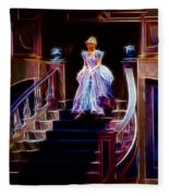 Cinderella Enters The Ball Fleece Blanket