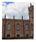 Circa 1818 Gothic 1st Presbyterian Church Huntsville Alabama Usa Fleece Blanket