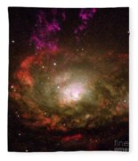Circinus Galaxy Fleece Blanket