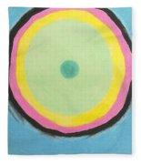 Circles Of Destiny Fleece Blanket