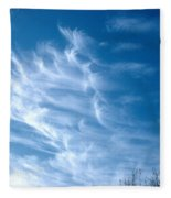 Cirrus Cloud Fleece Blanket