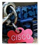 Cisco's Gear Fleece Blanket