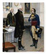 Citizen Gen�t, 1793 Fleece Blanket