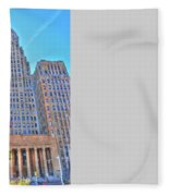 City Hall Fleece Blanket