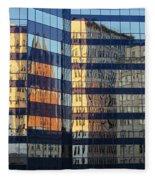 City Reflections 2 Fleece Blanket