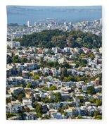 City View Fleece Blanket